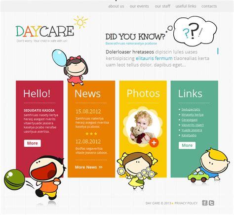 home care website design inspiration day care moto cms html template 42469