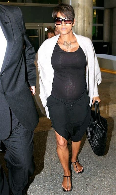 Get Halle Berrys Summery Sandals by Fashion And Whatever I Like Halle Berry Was At Lax