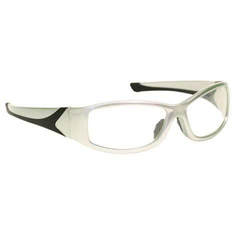 rx 808 prescription safety glasses wraparound frame rx