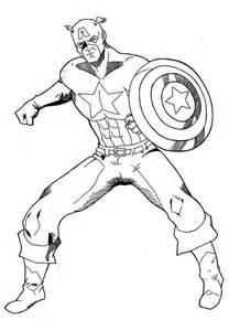 coloriage captain america les beaux dessins super 233 ros 224 imprimer colorier 22