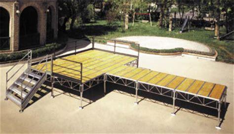 pedane palco palco de luxe vendita e noleggio palchi roma nosilence