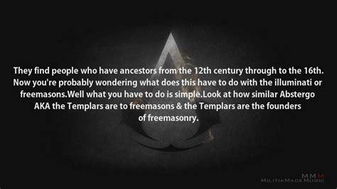 assassins creed illuminati assassins creed the third illuminati connection part 1