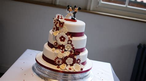 Wedding Cake 3 Tier by Disney Theme 3 Tier Wedding Cake Bakealous