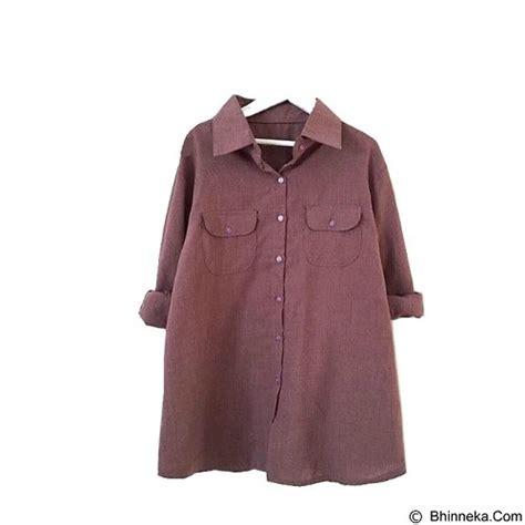 Atasan Pocket Tunik jual modenesia shirt pocket maroon merchant murah