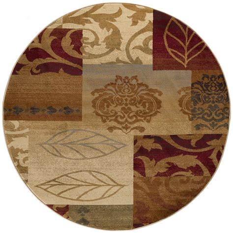 5 foot rugs tayse rugs impressions multi 5 ft 3 in x 5 ft 3 in indoor area rug 7730 multi 6