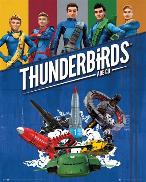 Poster Karakter Httyd Snotlout 30x40cm thunderbirds are go