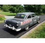 1955 Chevy 2 Dr Gasser Hot Rat Sreet Rod Vintage Drag Car Rare Classic
