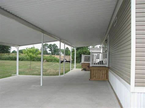 porch awnings for mobile homes mobile home patio covers best of porch and patio covers
