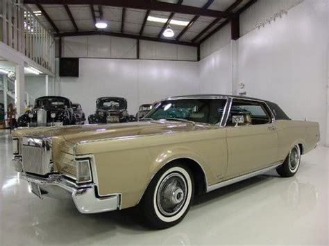purchase used 1969 lincoln continental mark iii only 27 069 original miles air conditioning
