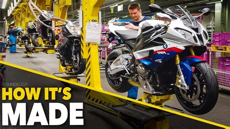 Bmw Motorcycles Youtube Channel by Bmw S1000rr Bmw Bikes Production How Its Made