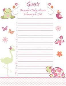 baby shower invite list invitation ideas