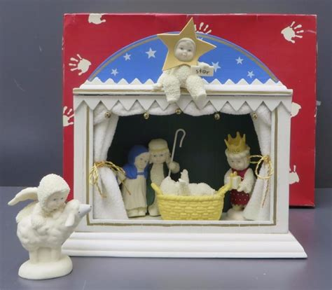 department 56 nativity snowbabies nativity shop collectibles daily