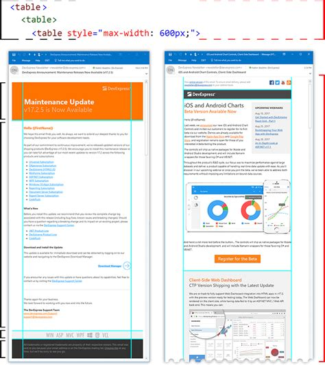 html layout in email getting started with html email a guide to simple