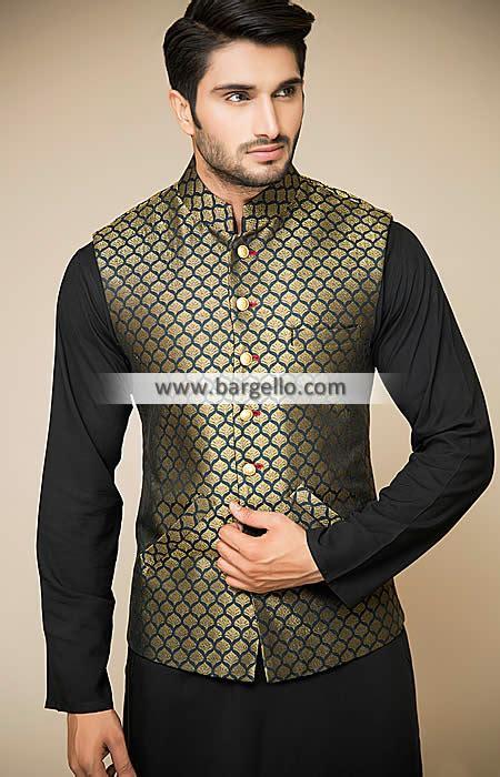Attractive Banarasi Waistcoat for Evening and Social Events Williston Park New York NY USA K740