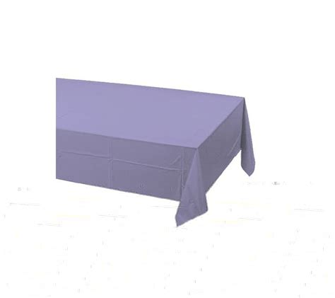 plastic table cover lilac lavender plastic table cover supplies