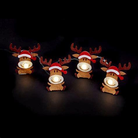 reindeer lights reindeer led lights buy at qd stores