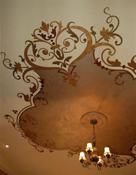 Wandgestaltung Schlafzimmer 4171 by Die Besten 25 Decke Streichen Ideen Auf