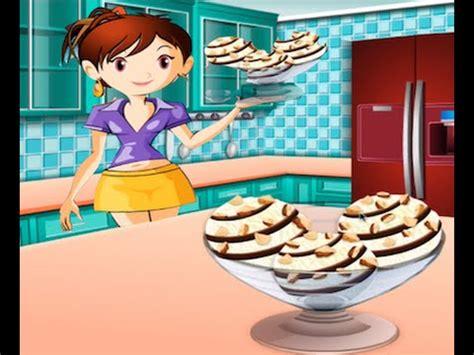 sara juegos de cocina juegos de cocina con sara helado de vainilla youtube