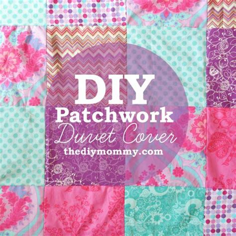 How To Make A Patchwork Quilt Cover - 29 cool diys to make for your bed diy projects for