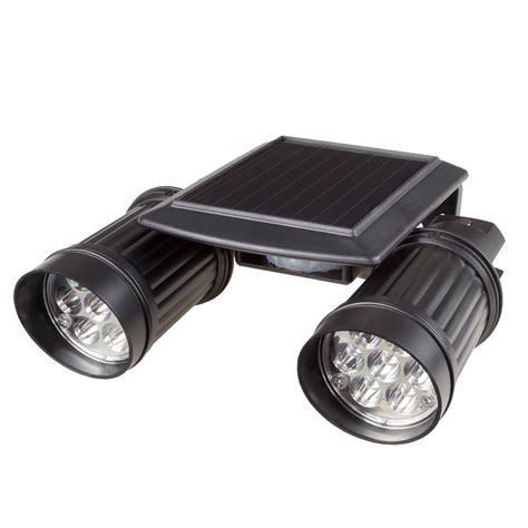 Stalwart Black Motion Activated Outdoor Integrated Led Motion Activated Led Outdoor Light