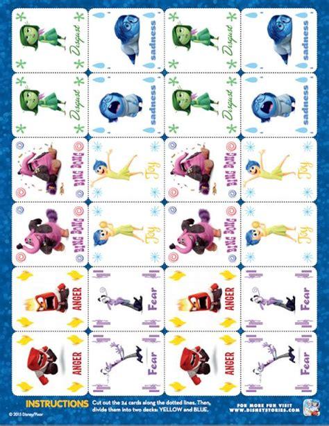 disney pixar inside out free printables free inside out printables projects pinterest disney