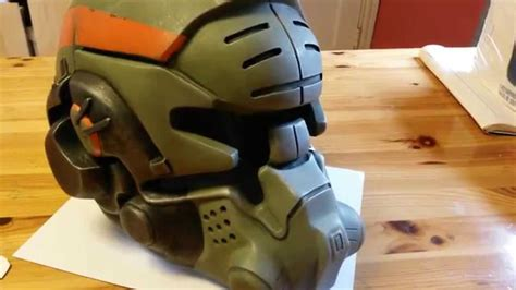 finishing titanfall militia helmet part 2 youtube