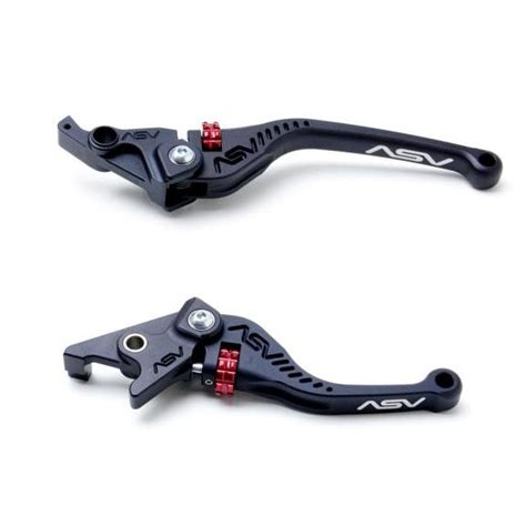 Lever Cluth Brake Asv asv c5 black shorty brake clutch levers kit ktm 950 990