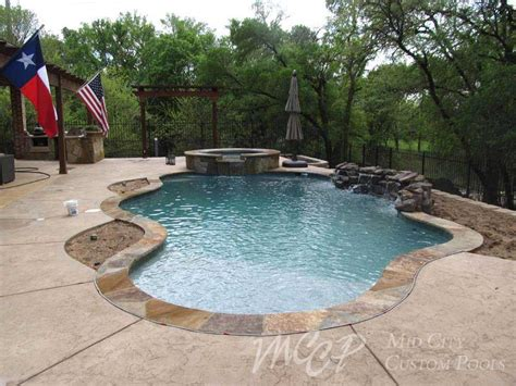 freeform pools freeform swimming pool builders forth worth southlake dfw tx