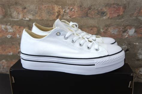 converse all platform shoes white soleracks