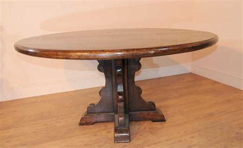 oak farmhouse refectory table kitchen dining ebay