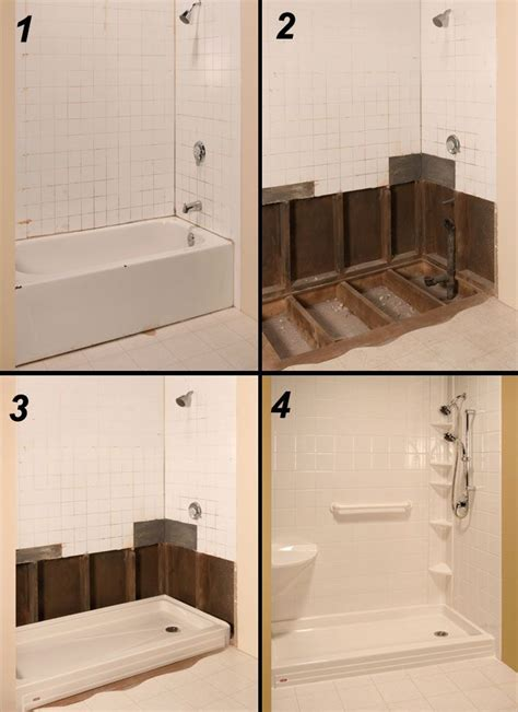 top 25 best tub to shower conversion ideas on