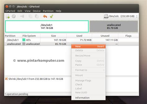membuat html di ubuntu cara membuat menghapus dan format partisi hardisk di