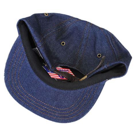 Denim Hat new york hat company denim strapback baseball cap blank