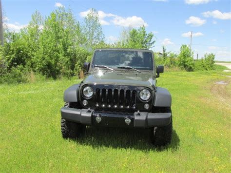2015 jeep willys lifted 2015 jeep wrangler jk willys 4x4 lifted road salvage