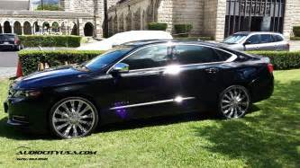 chevrolet impala custom wheels borghini b15 22x8 0 et