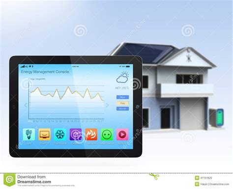 home console smart home console stock photo image of home interface