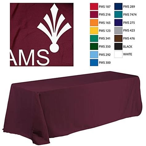 custom printed tablecloths for 6 tables