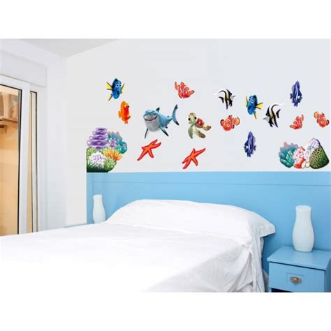 removable wall stickers for baby room sea world removable wall decal stickers baby room wall sticker decor nursery 45 60cm