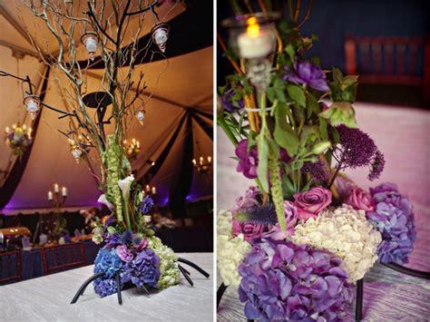 Quot Enchanted Forest Quot Elegant Wedding Every Last Detail Enchanted Forest Wedding Centerpieces