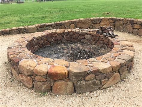 Firepit Construction Pit Construction Masonry Synchronicity Farm The Giving Tree