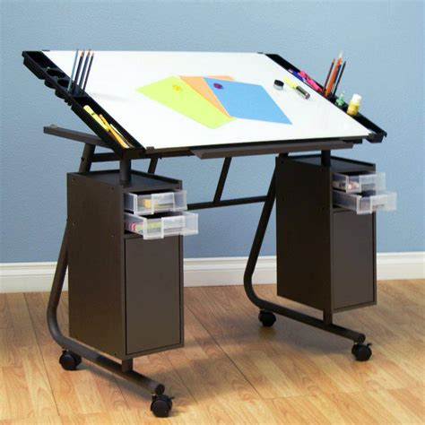 Glass Drafting Table Ikea Home Decor Ikea Best Drafting Table Storage