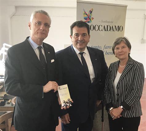 ambasciata italiana santa sede ambasciatore santa sede visita la fondazione boccadamo
