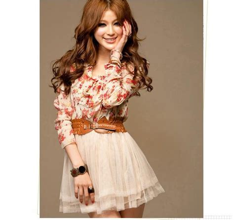 Dress Caroline Murah dress import cantik lengan panjang bunga model terbaru