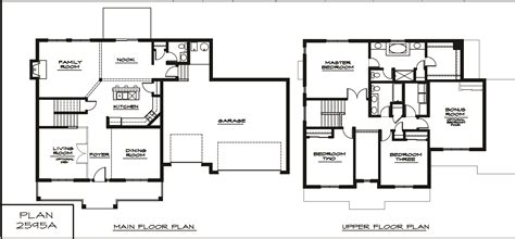 floor plans for two story homes ahscgs