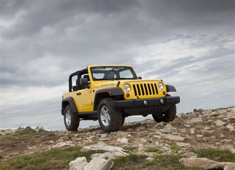 Jeep Enthusiast Yellow Wrangler 2011 Jeep Enthusiast