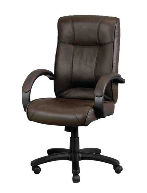 Dark Brown Leather Office Chair Leather Office Chair