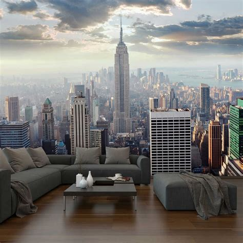 new york city wall mural your piggy bank