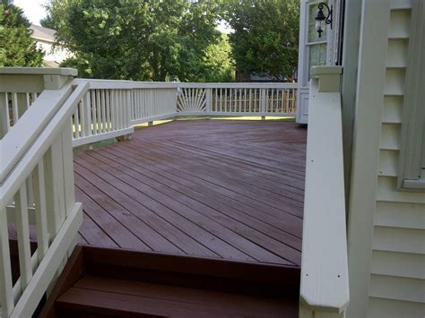 deck sealing  staining cascade services gainesville va