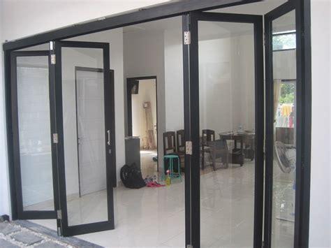 jual pintu lipat aluminium  lapak arc store muhammad