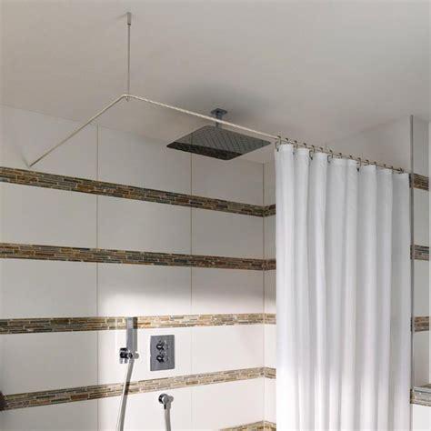 Duschstange Badewanne by Duschvorhangstange Ds E 170 70 L Form Edelstahl L Form